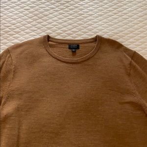 NWOT Men's J. Crew tan sweater
